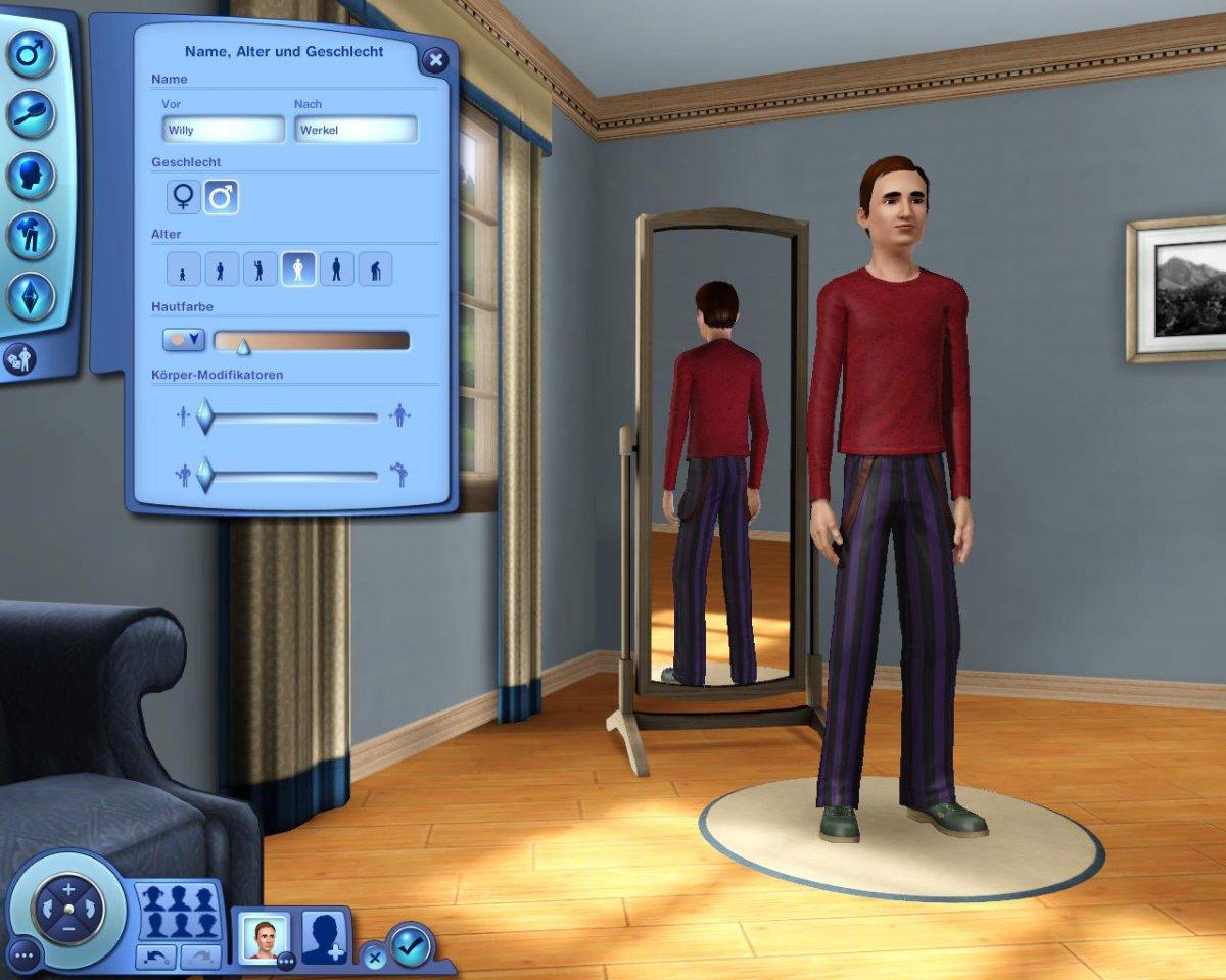Erstelle einen Sim | www.DieSims-Game.de